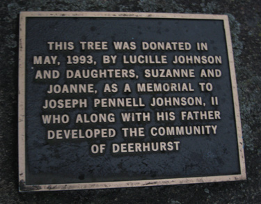1993 Johnson Plaque