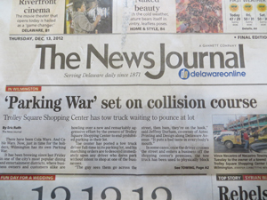 News Journal Pakring Wars